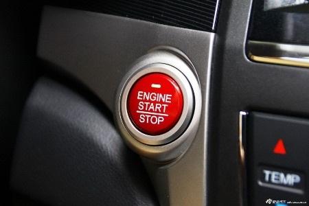 Xe được trang bị nút bấm khởi động